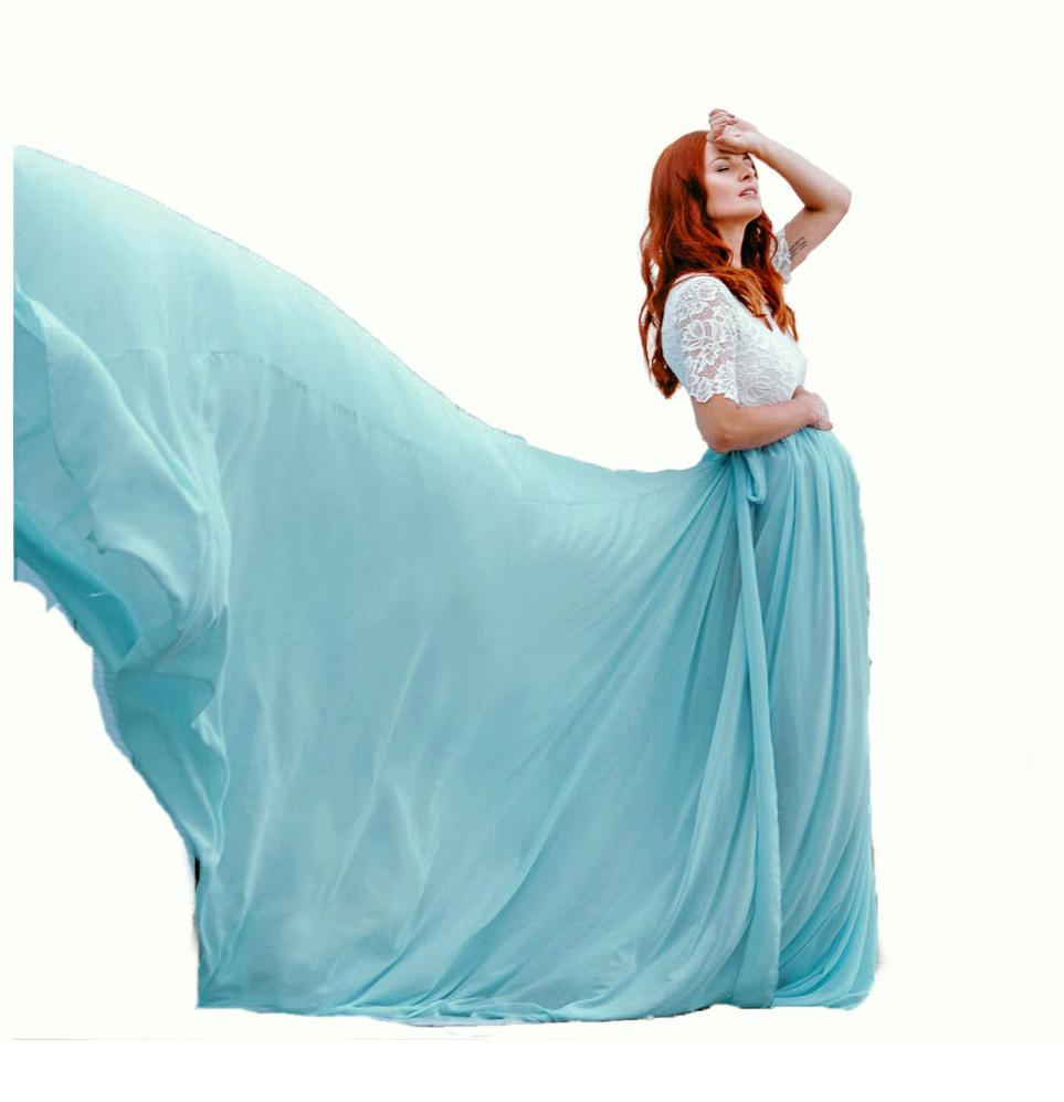 Pregnancy Maxi Dress For Photo Shoot Big Dress Photography Maxi Clothes For Pregnant Lady Maternity Gown Lace Dress Photography enlarge