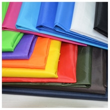50cm*150cm Polyester Waterproof Sturdy fabric PU coating  for umbrella kite bunting clothing handmade DIY