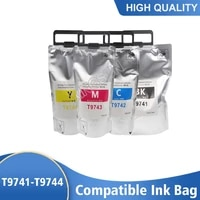 t9741 t9742 t9743 t9744 ink cartridge with pigment ink and chip for epson wf c869ra printer ink pack ink bag