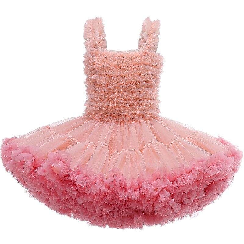 TUTU Baby Dress Summer Casual Good Quality  Elegant Cake Princess Dress Formal Festival Party Costume Birthday Gift Kids Dresses