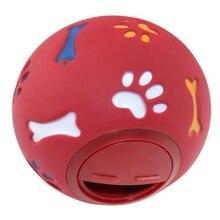 Bite-Resistant Dog Molars Missing Food Puzzle Ball Pet Toy 1 Set of 2 Pcs, 1 Medium Ball, 1 Small Ball