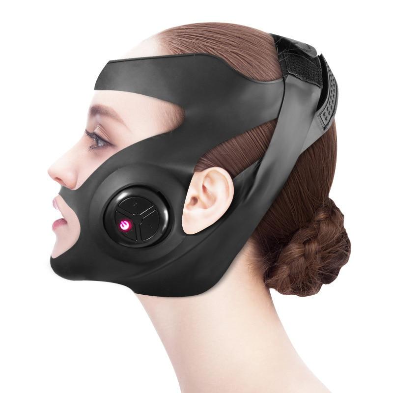 EMS مايكرو الحالي الخامس قناع الوجه معدات التجميل الذكية المحمولة جوهر استيراد أداة متعددة وضع رفع جهاز