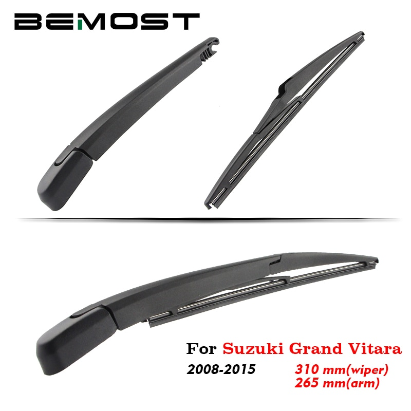 BEMOST Car Rear Windshield Wiper Arm Blade Brushes For Suzuki Grand Vitara 2008-2015 Hatchback Back Windscreen Auto Styling