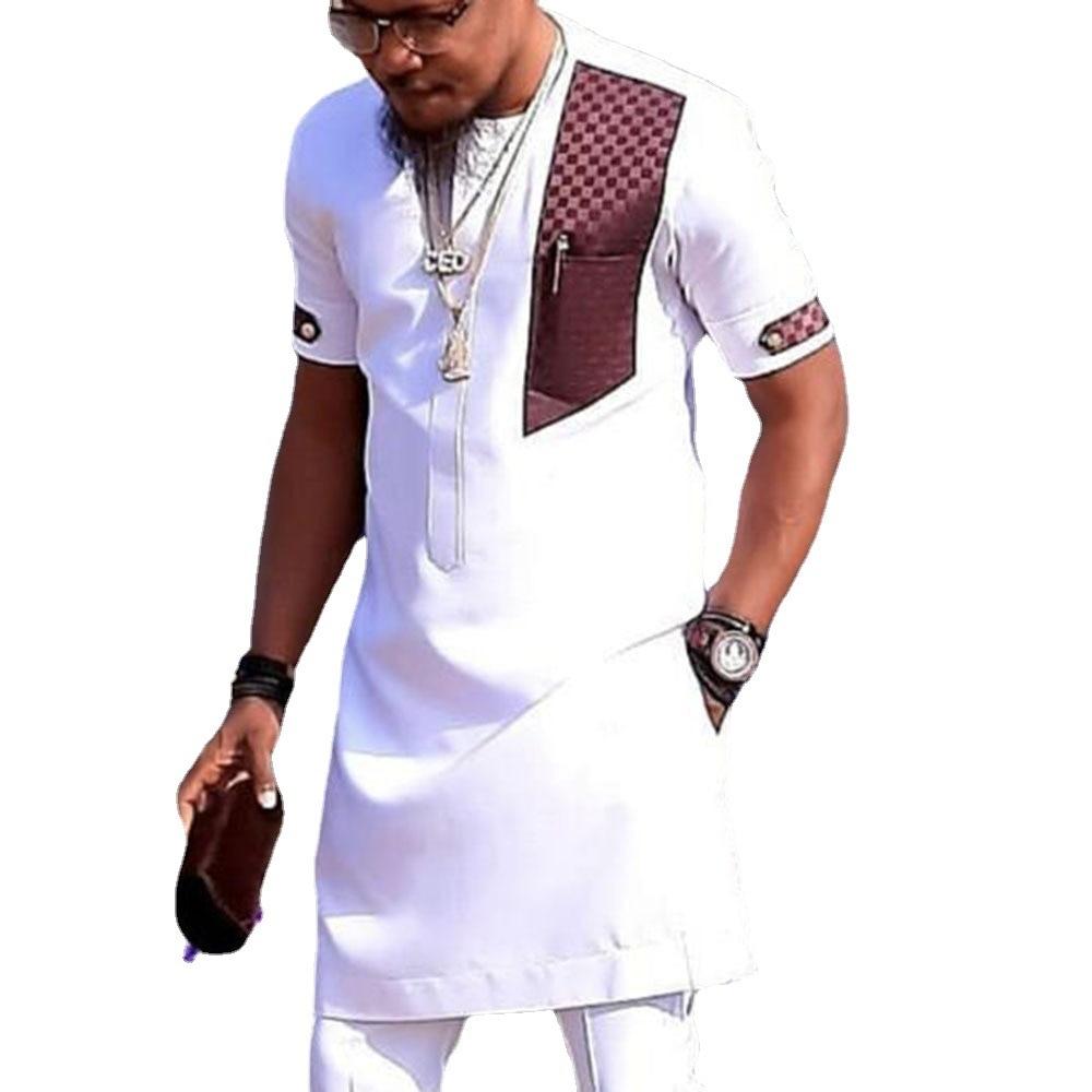 Dashiki تي شيرت رجالي موضة أفريقيا الملابس البلوفرات الملابس الأفريقية الهيب هوب رداء الأفريقية فستان كاجوال تي شيرت أوم 2021