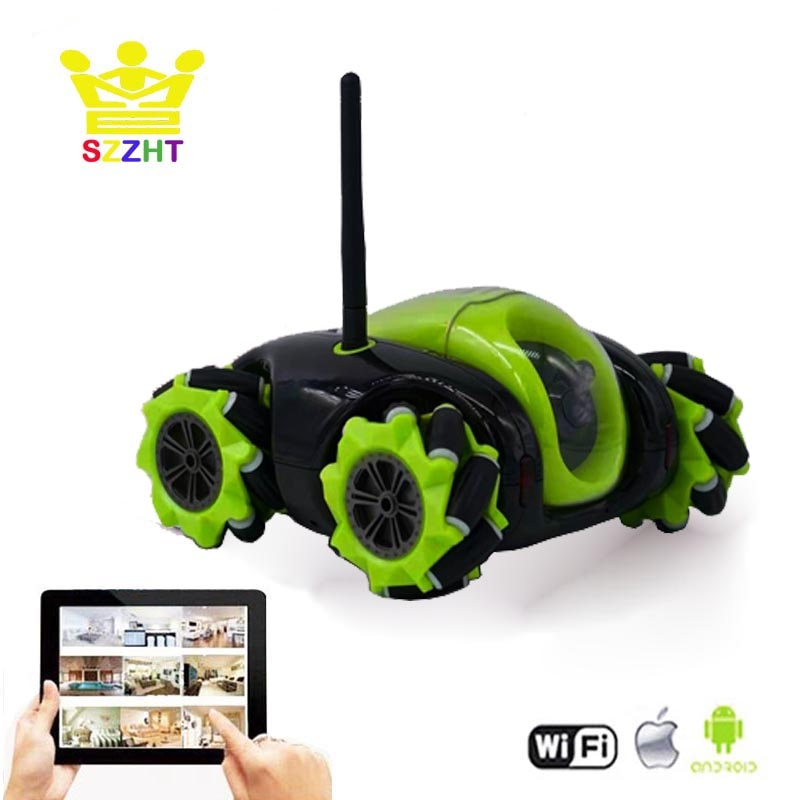 Wifi App Controlled Robot Toy Cloud Rover Remote Control Tank with FPV HD Camera RC Vehicle VR Wirel
