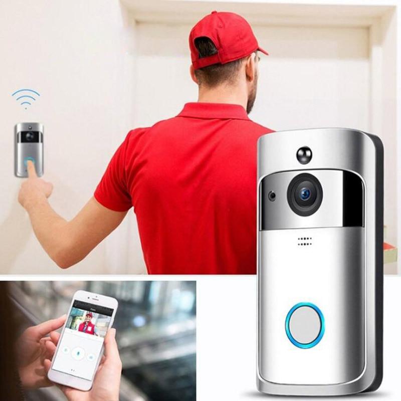 Smart Home V5 Wireless Camera V7 Video Doorbell 1080P HD WiFi  Doorbell Home Security Smartphone Remote Monitoring Alarm Door enlarge