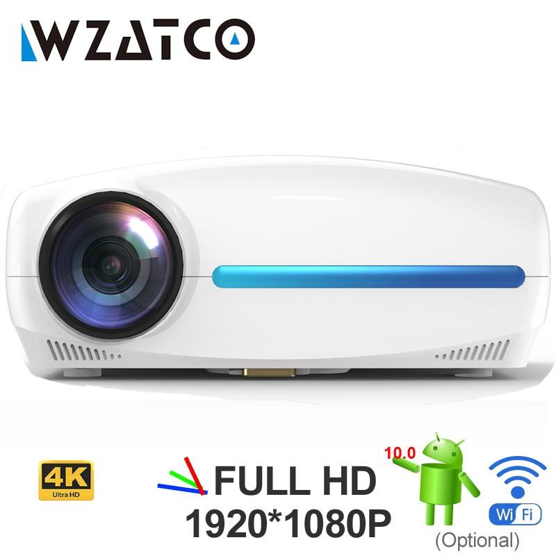 WZATCO C2 1920*1080P Full HD de 200 pulgadas AC3 4D keystone LED...