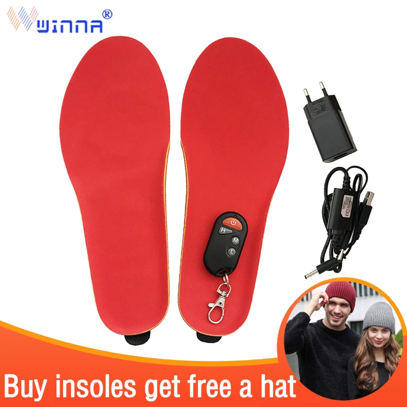 unisex wool felt insoles for winter men women thick soft warm plush shoes inserts heated breathable sweat absorbant soles pad BEST GIFT NEW ARRIVAL warm Electric heated Insoles soles For women men Shoes boot Winter thick insole with fur EUR SIZE 35-46#