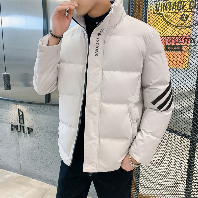 Хлопковая куртка мужская зимняя куртка 2020 новый тренд хлопковая куртка Мужская короткая хлопковая куртка