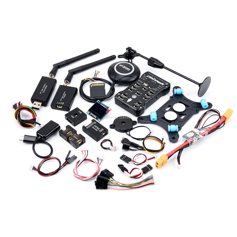 Pixhawk PX4 Autopilot PIX 2.4.8 32 Bit Flight Controller with Safety Switch Buzzer 16GB Card PPM I2C RGB M8N for F450 Quadcopter
