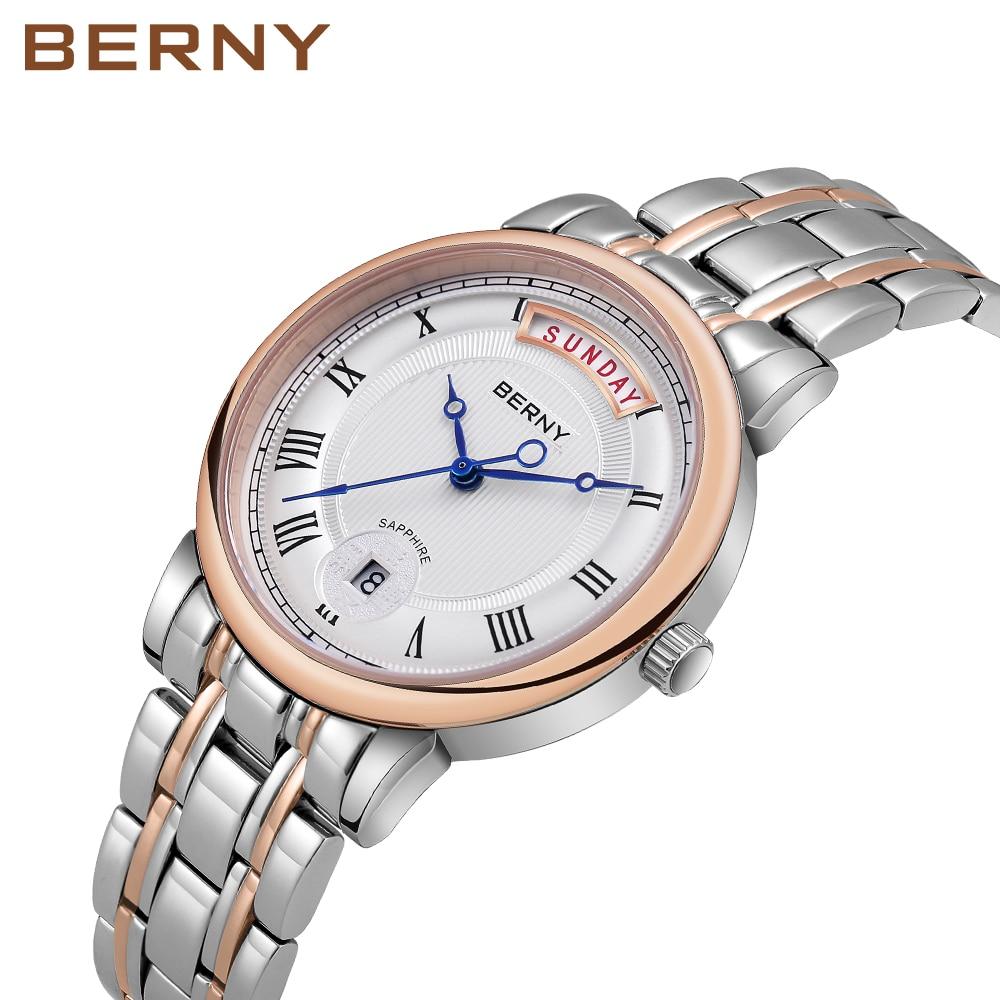 ساعة نسائية كلاسيكية للنساء ساعات يد مقاوم للماء كوارتز السيدات ساعة اليد وصفت الإناث ساعة Montre فام