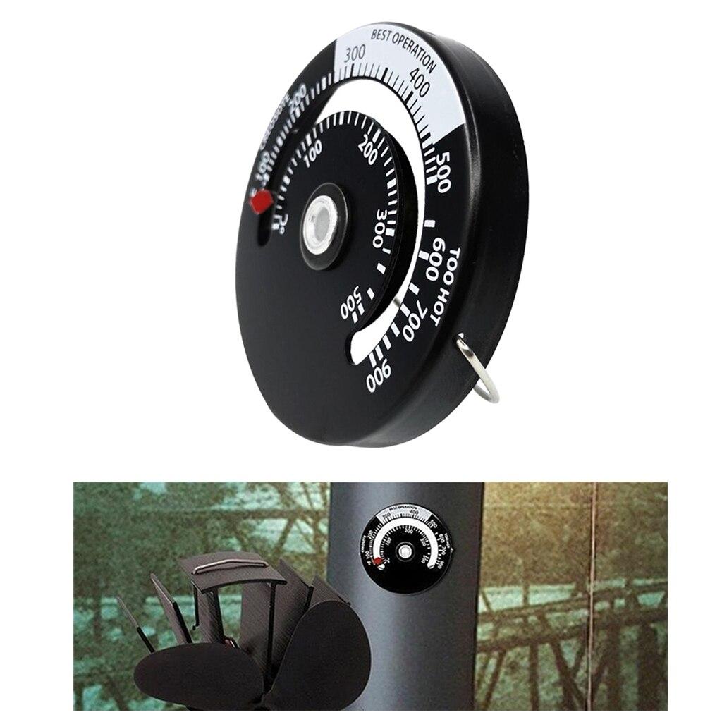 Магнитный термометр для печки, измеритель температуры для дровяных печей, газовые плиты, пеллетная печь, печи для барбекю, гриля, дымохода