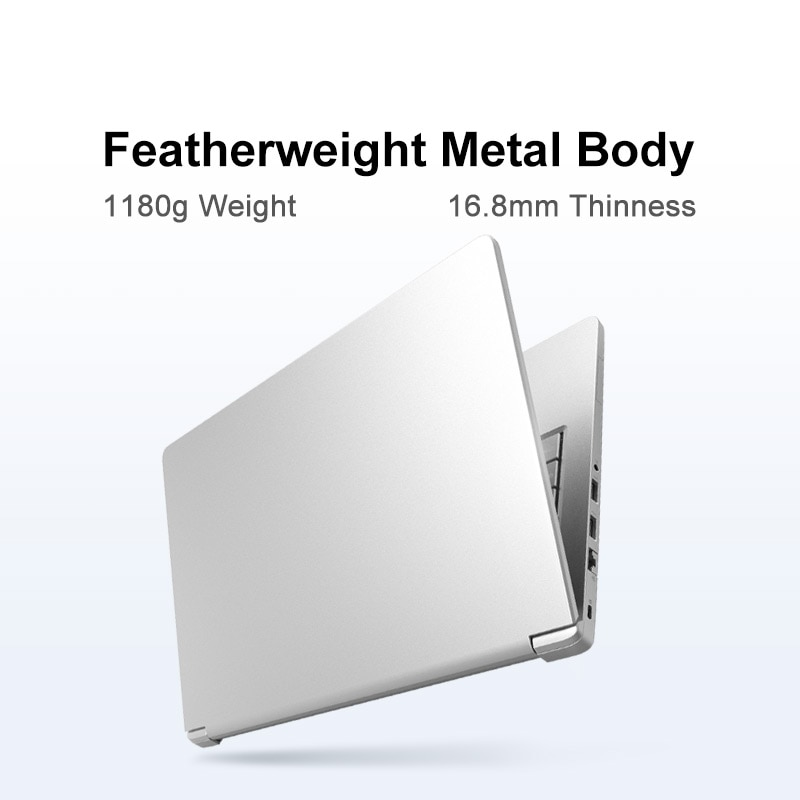 "MAIBENBEN Laptop Maibook M446【14 ""IPS/AMD Ryzen5 4600H/8GB DDR4 3200MHZ/512GB PCI-E SSD/Win10/1.18KG/Ultrathin】One year warranty"