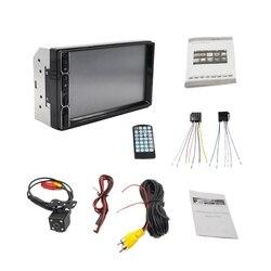 7 polegada led hd tela de imprensa estéreo 2 din carro multimídia rádio bluetooth mp5 player 7031