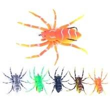 Appât artificiel souple en Silicone pour la pêche, leurre pour attraper des poissons tels que les carpes, les bars ou les araignées, avec triple hameçon, 8cm, 7g, 1 pièce
