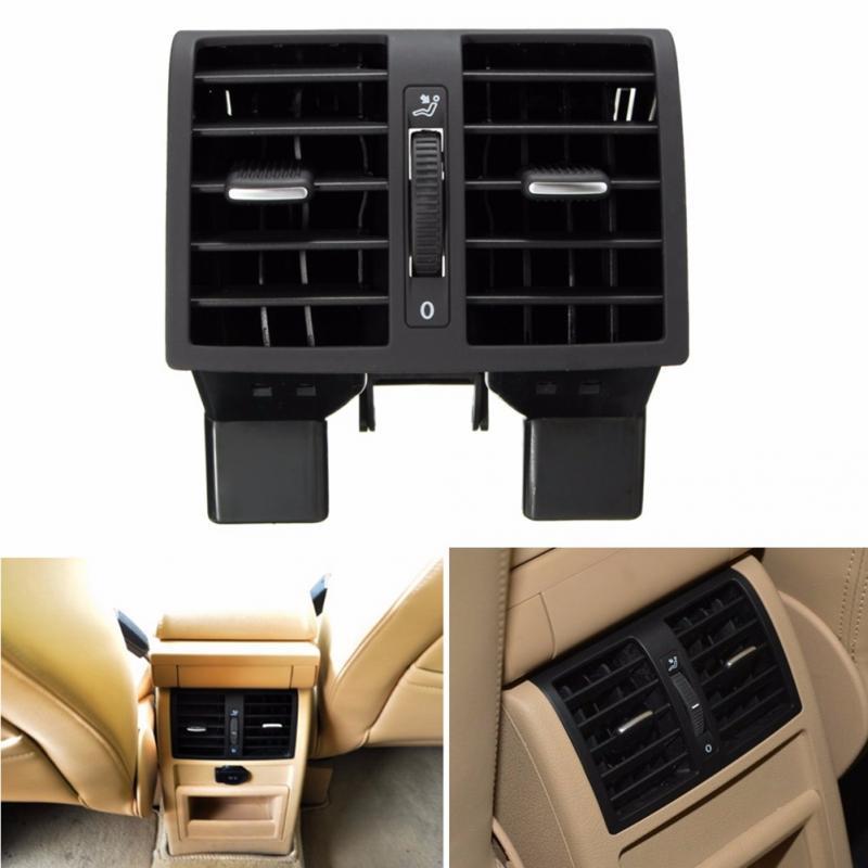 Coche Centro consola trasera AC aire salida Auto Interior accesorios Interior Centro trasero de ventilación de aire para 1T0819203 1TD 819, 203