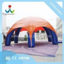 Tente gonflable de tente daraignée de 10X10M avec Six jambes pour des tentes de jouet dexplosion de publicité dévénement adaptées aux besoins du client pour lexposition de partie