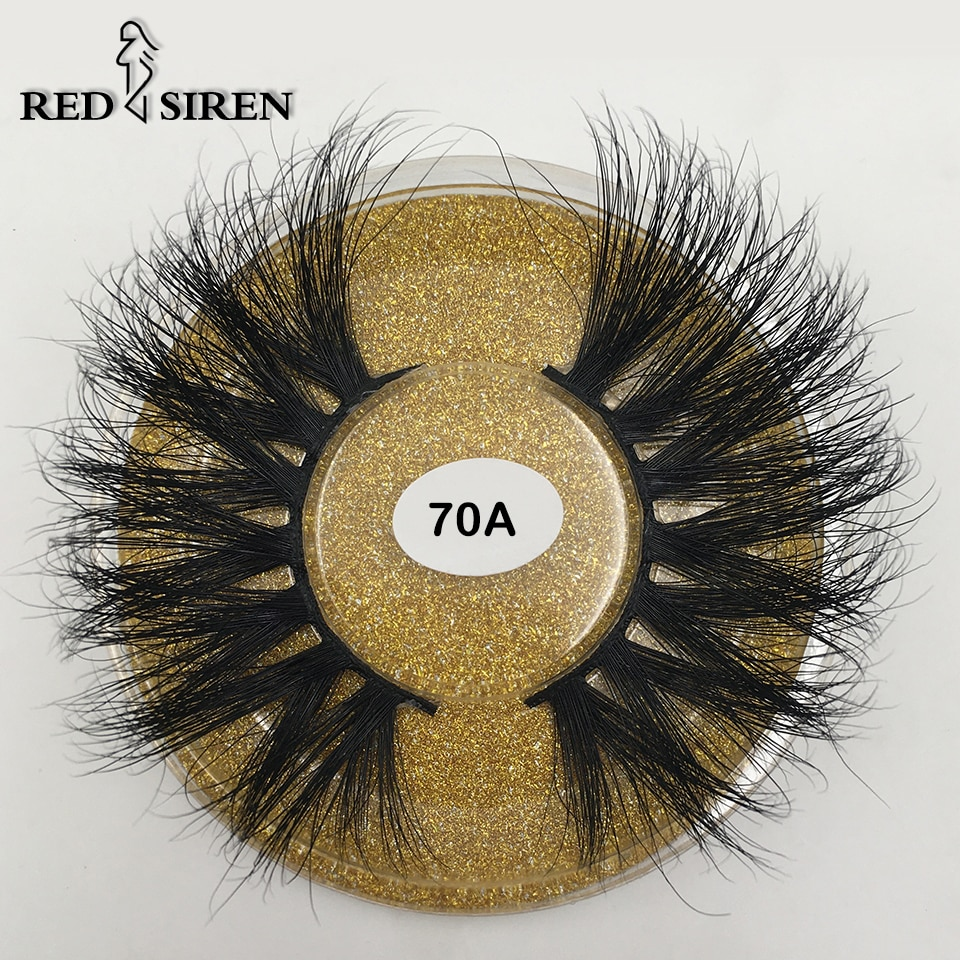 RED SIREN 25mm 3d Mink Lashes Natural Thick Dramatic Long Eye Lashes Makeup Extention Fake Eyelashes