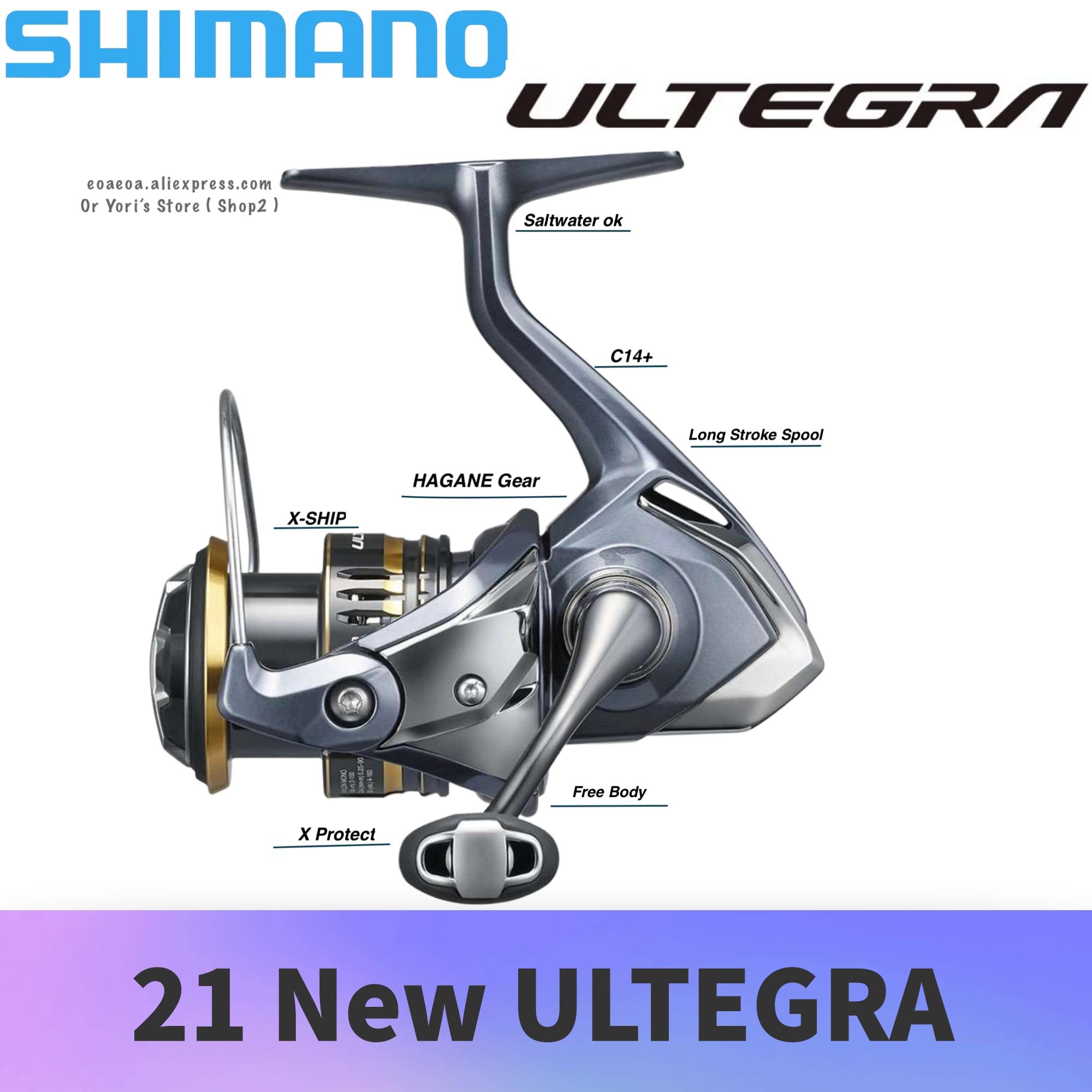 21 New Shimano Ultegra 2500 C3000 C3000HG 4000 C2000HG 2500HG HAGANE Body Saltwater Pesca Fishing Spinning Reel