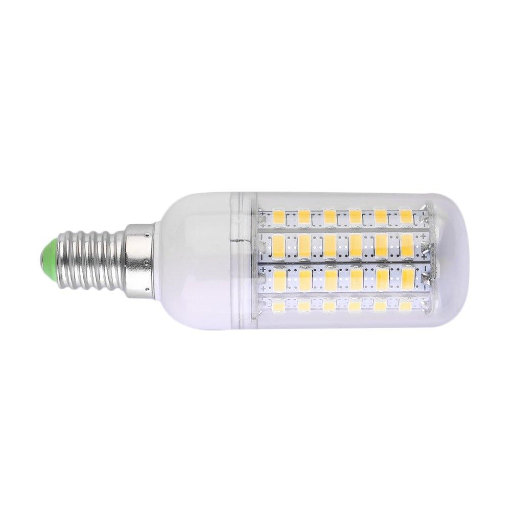 ICOCO E14 12W 5730 SMD 60 bombilla LED tipo mazorca bombilla lámpara ahorro de energía 360 grados