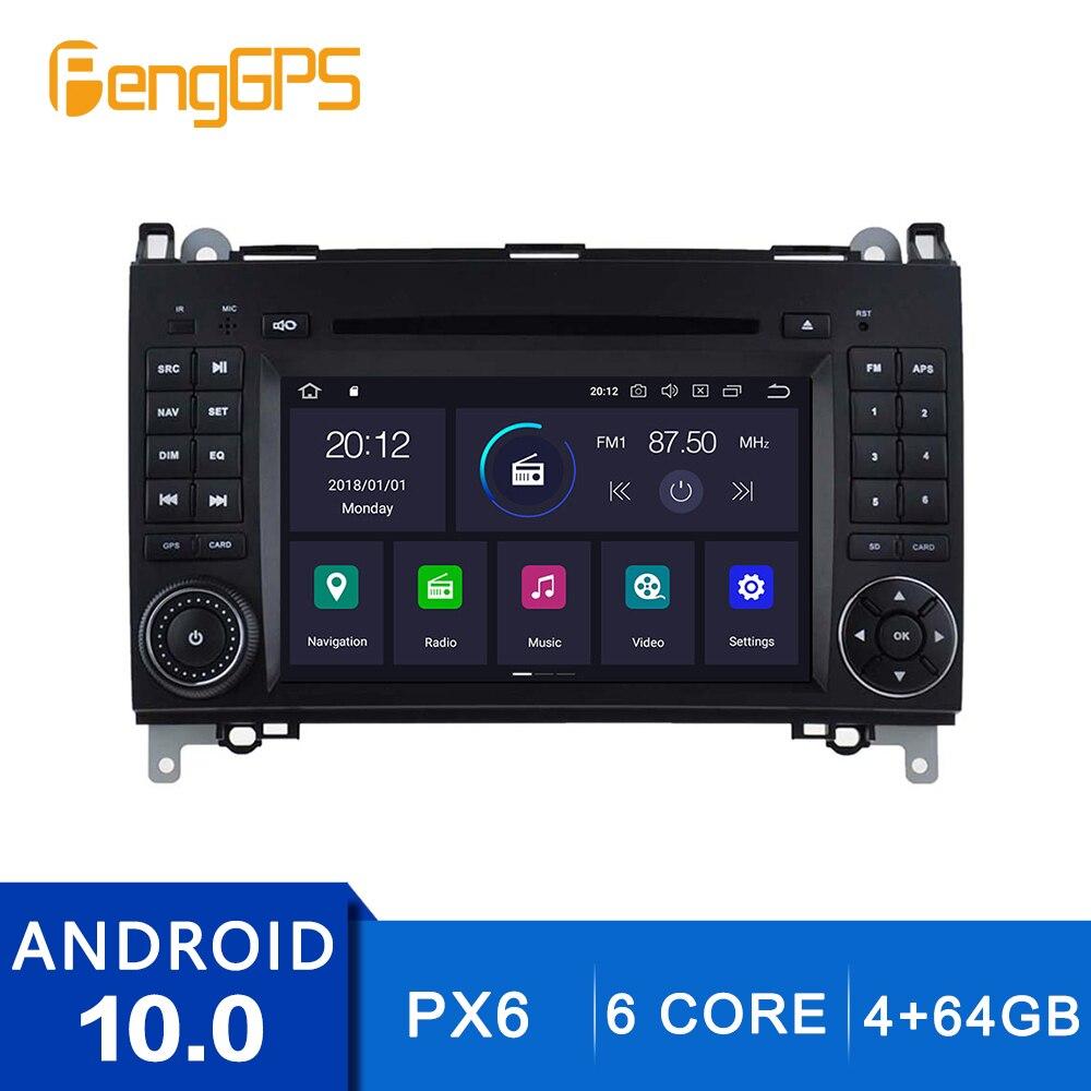 Android 10.0 Cd Dvd-speler Voor Mercedes Benz B200/B-Klasse/W245/B170/W169 Multimedia autoradio Auto Stereo Gps Navigatie Carplay