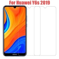 2pcs for huawei y6s 2019 y 6s tempered glass safety screen protector on huawei y 6 s y6 s y6s 2020 huawey phone protective glass