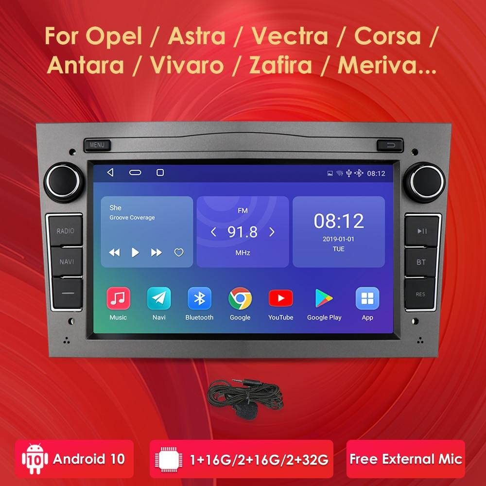 2G 64G أندرويد 10 2 الدين سيارة لتحديد المواقع لأوبل فوكسهول أسترا H G J فيكترا انتارا زافيرا كورسا فيفارو ميريفا فيدا لا مشغل ديفيدي