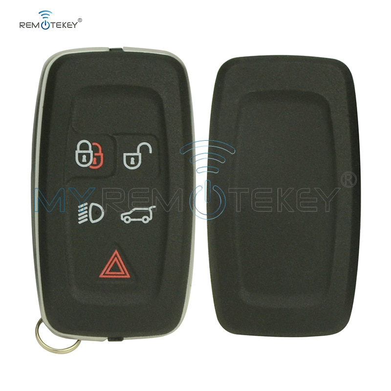 Remtekey AH22-15K601-AD, funda para llave inteligente, 5 botones para land Rover Range Rover Sport LR4 2010 2011 2012