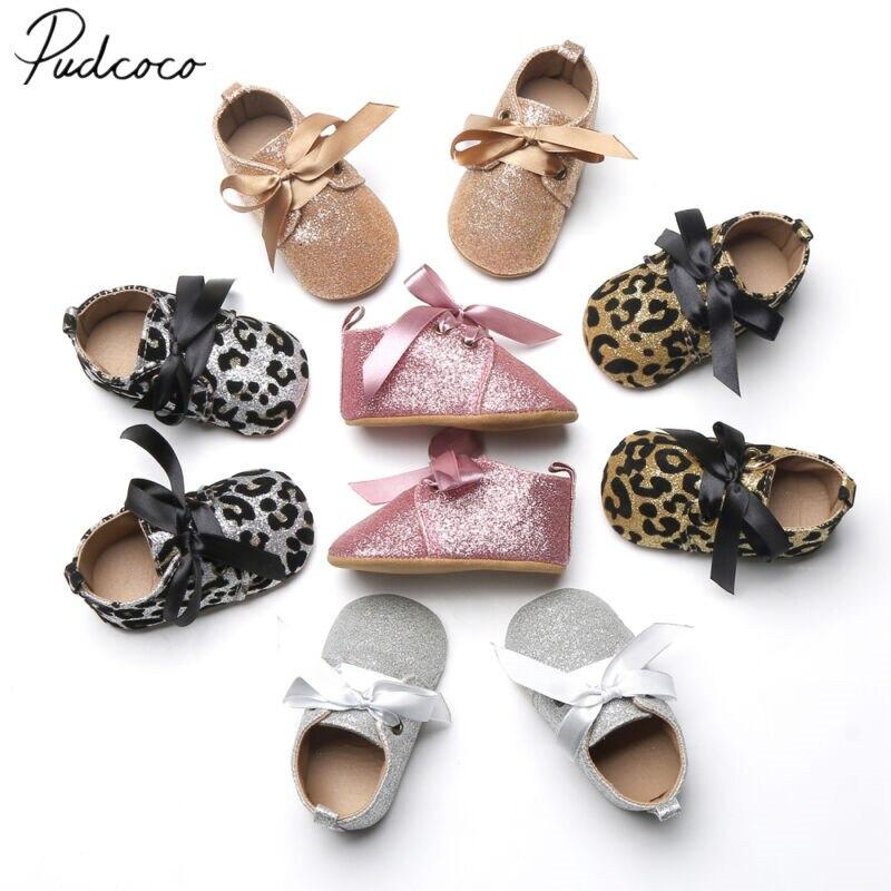 2020 Baby Erste Wanderer Baby Quaste Weiche Sohle Glitter Schuhe Infant Junge Mädchen Kleinkind Solide Glitter Mokassin 0-18M