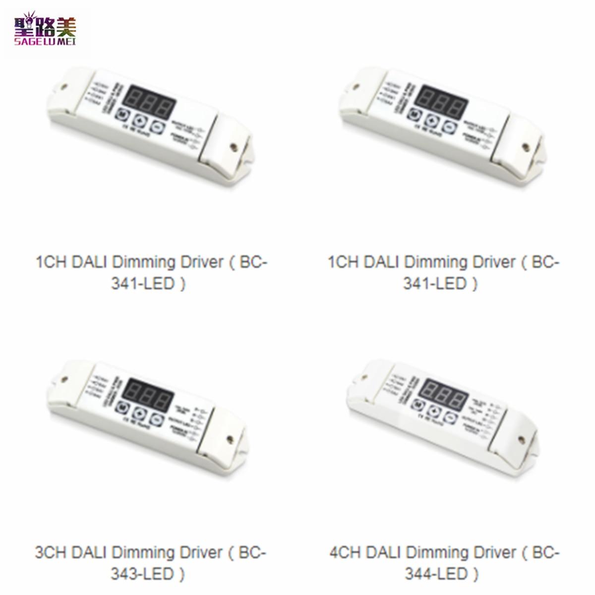 DC12V-24V دالي يعتم سائق 1CH 3CH 4CH LED وحدة تحكم لخاصية تخفيض الإضاءة ل واحد/RGB/RGBW LED قطاع أضواء مصباح