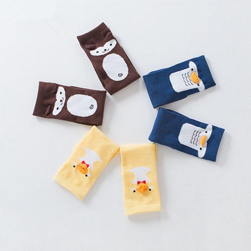 Kids Non-slip Cute Soft Cotton Kawaii Girls Boys Sock Duck Penguin Catoon Pattern Socks Baby Long Socks