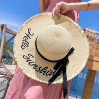 Соломенная шляпа с бантиком Посмотреть