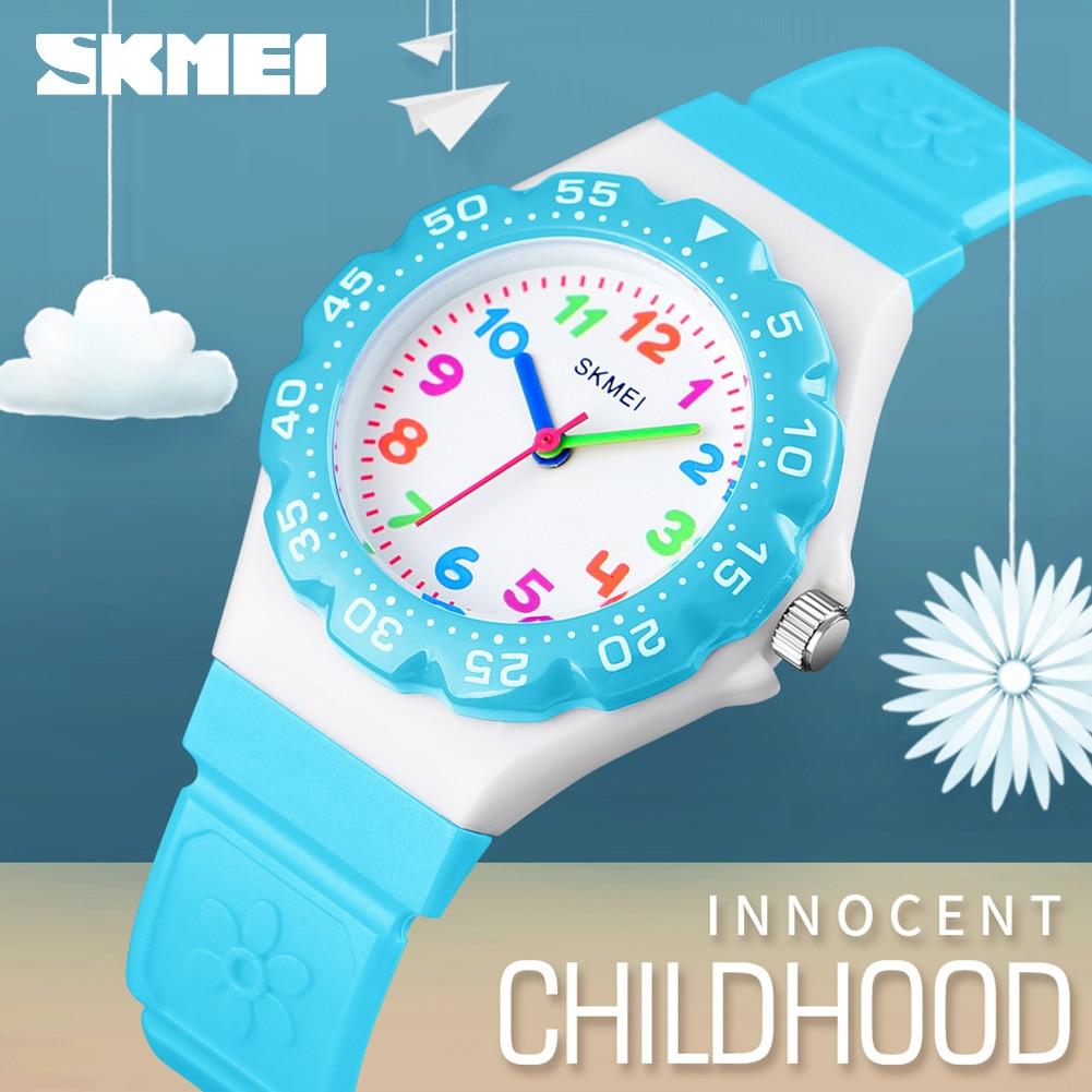 Skmei 1483 Children Watch Fashion Casual Quartz Watches Waterproof Jelly Kids Clock boys girl Hours Students Dress Wristwatche