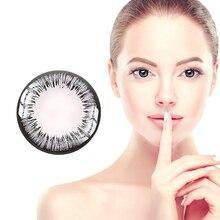 [Promuj sprzedaż] darmowa wysyłka Horien kolorowe soczewki kontaktowe 1 sztuk kwartalne jednorazowe soczewki kobiece kolor dla oczu Party prezent