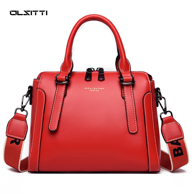 Large Capacity Casual Tote Bag Leather High Quality Crossbody Bag for Women 2021 Ladies Shopping Sho