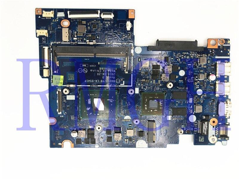 Akemy-placa base para ordenador portátil, 5B20L85910, BAUS0, Y0, LA-D541P, para Lenovo Yoga 510-14AST 500-14ACZ, A6-9210, CPU GP