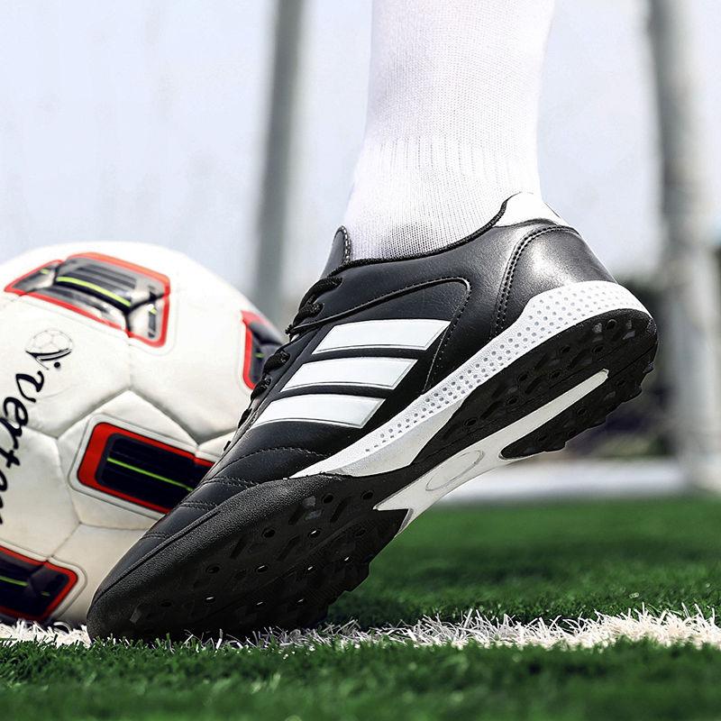 Мужские футбольные туфли, Детские уличные футбольные бутсы, туфли для футбола, удобная обувь для тренировок в помещении Обувь для футбола      АлиЭкспресс