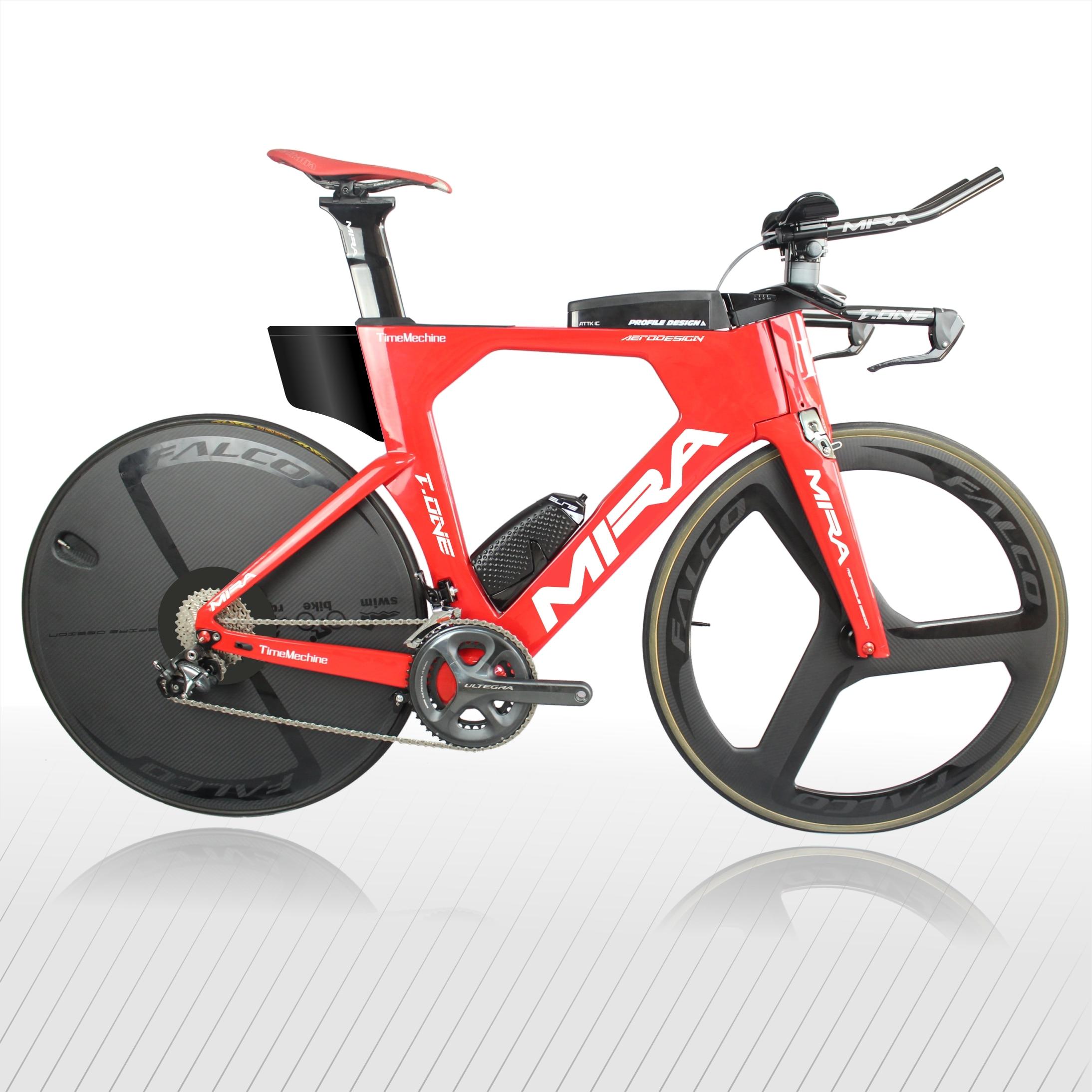 Bicicleta de carbono Aero triatlón T-ONE, estructura de carbón, bicicleta TT de fábrica de China V, freno de alta calidad 48/52/54/56/58cm