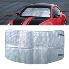DWCX Auto Front Faltbare Windschutzscheibe Sonnenschirm Sonnenblende Fit Für Volkswagen Beetle 2012 2013 2014 2015 2016 2017 2018 2019