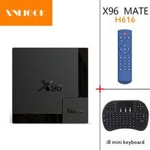 أندرويد 10.0 OS X96Q Mate H616 TV Box 2.4G/5G Wifi BT4.0 4GB 32GB 64GB Netflix يوتيوب تي في بوكس أندرويد