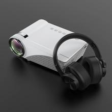 Projector 5500Lumens LCD LED Cast Screen Buetooth Earphone Sound Wireless Phone Same Screen Full HD