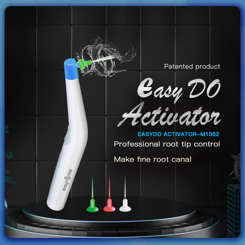 Dental Instrument Endo Cleaning Odontologia Sonic Irrigator Dentistry Sonic Activator With 60pcs Tips For Endo Root Canal 2018 new arrival dental root canal irrigator flusher root canal washing machine with rinse head