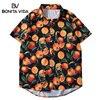Japanese Styl Hip Hop Shirt Mens Hawaiian Shirt Rose Floral Summer Harajuku Hawaii Thin Short Sleeve Beach Shirt Streetwear