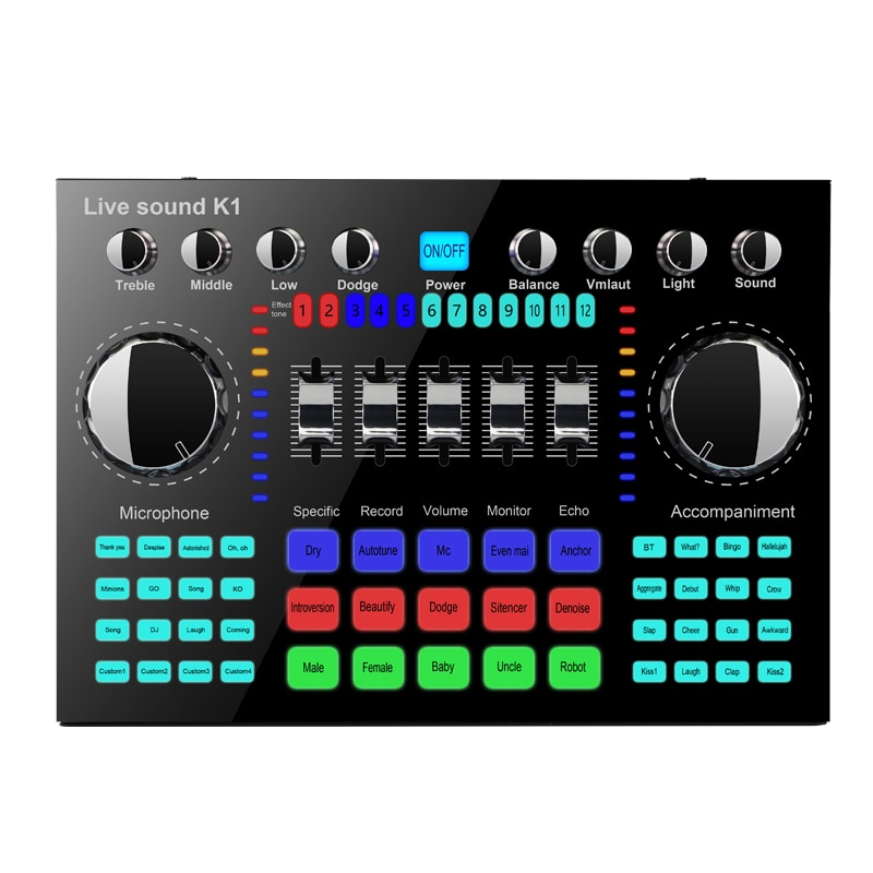 K1 Sound Card Cheap Factory Price K1 sound card enlarge