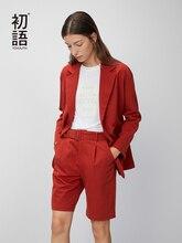 Toyouth 2020 2 Stück Hosen Anzüge Frühling Mode Stickerei Gürtel Lose Temperament Outwear Frauen Anzug
