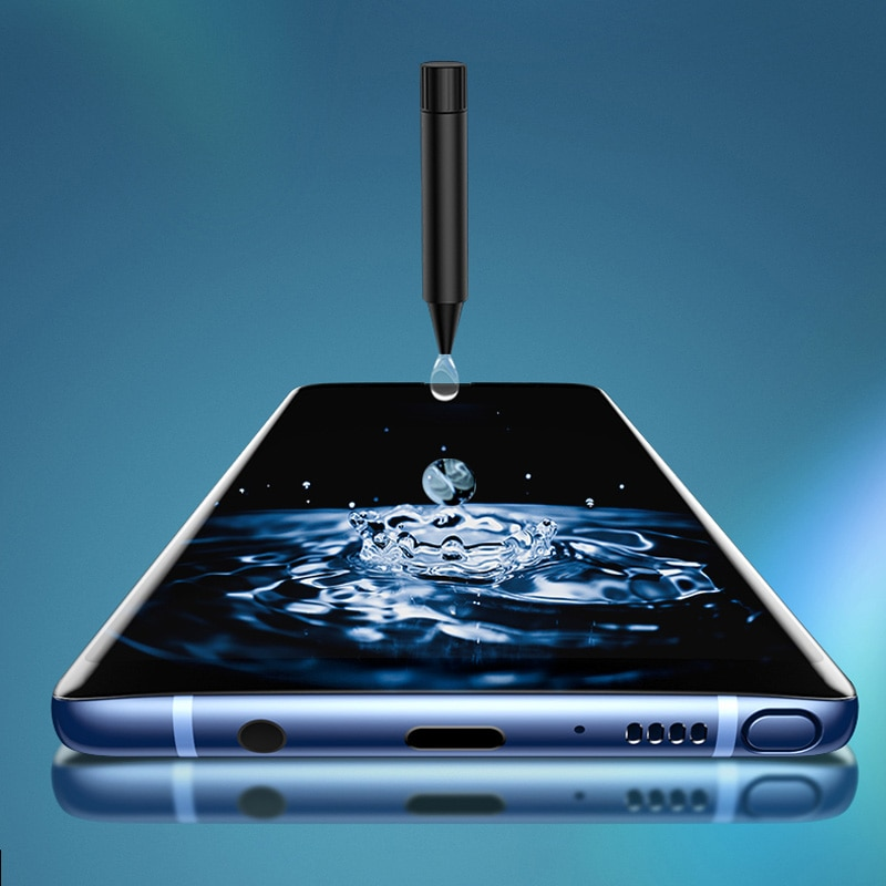 Vidrio templado con pegamento 100D UV para Xiaomi Mi 10 Pro película protectora de pantalla de cobertura completa para Xiaomi MI10 Pro 10Pro