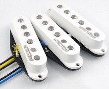Wilkinson 60er WVS Alnico V Single Coil Gitarre Pickups Weiß Elektrische Gitarre Pickups Für Stratocaster Gitarre Made In Korea