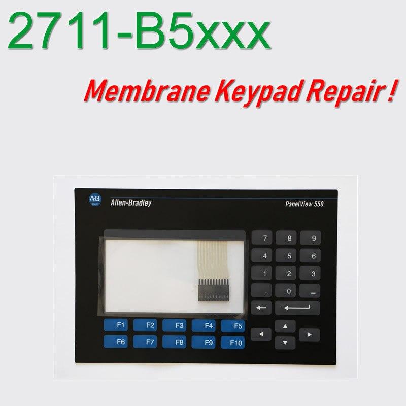 Teclado de membrana para reparación de paneles HMI 550 2711-B5A3 2711-B5A5 do...