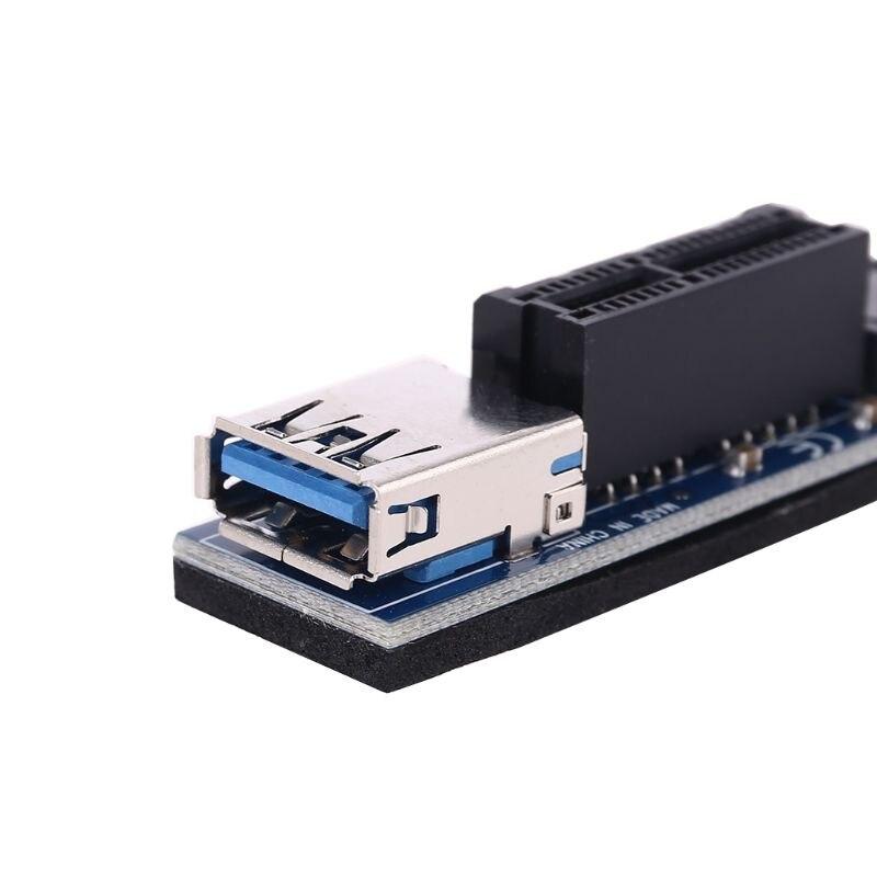 NVME M.2 M-Key to PCI-E X1 Riser PCI Express Card PCIE Connector Riser 30cm enlarge