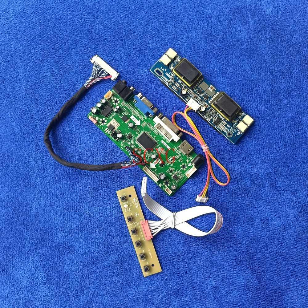 VGA DVI HDMI-متوافق 4CCFL M.NT68676 كارت قيادة Fit M170E6/M170E7/MT170EN01/M170MNE1 شاشة LCD 1280*1024 LVDS 30-Pin لتقوم بها بنفسك عدة
